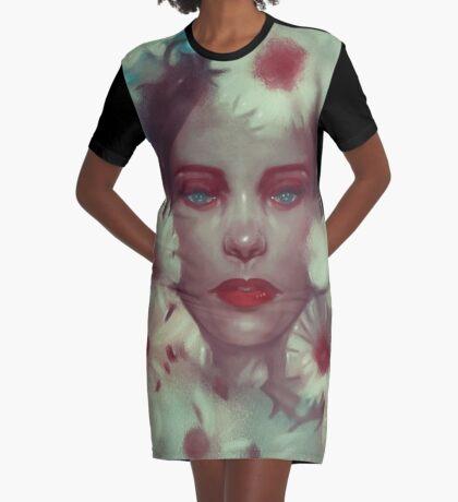 Flower nymph-Flora Graphic T-Shirt Dress
