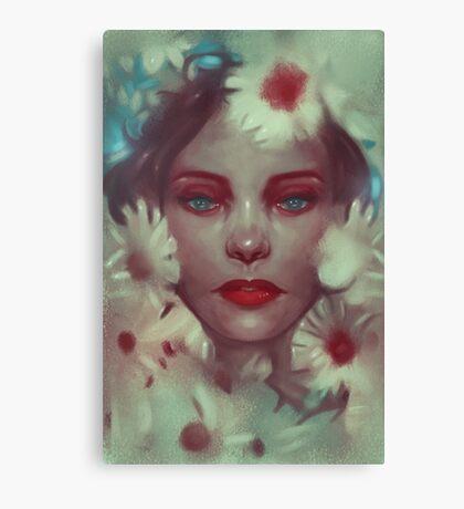 Flower nymph-Flora Canvas Print