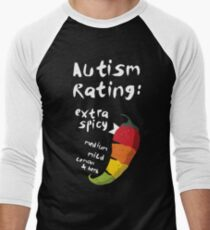 Spicy Autism Men's Baseball ¾ T-Shirt