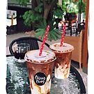 COFFEE IN CHIANG MAI by JuditMallolArt