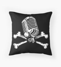 PIRATE RADIO Throw Pillow