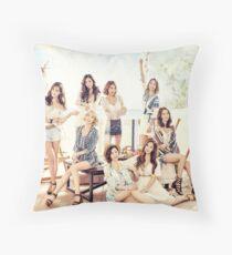 girls generation Throw Pillow