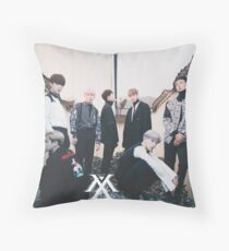MONSTA-X Throw Pillow