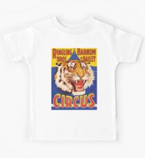 TIGER, Growl, Circus Poster, Ringling Bros, Circus, Animal, Vintage, Poster, Kids Tee