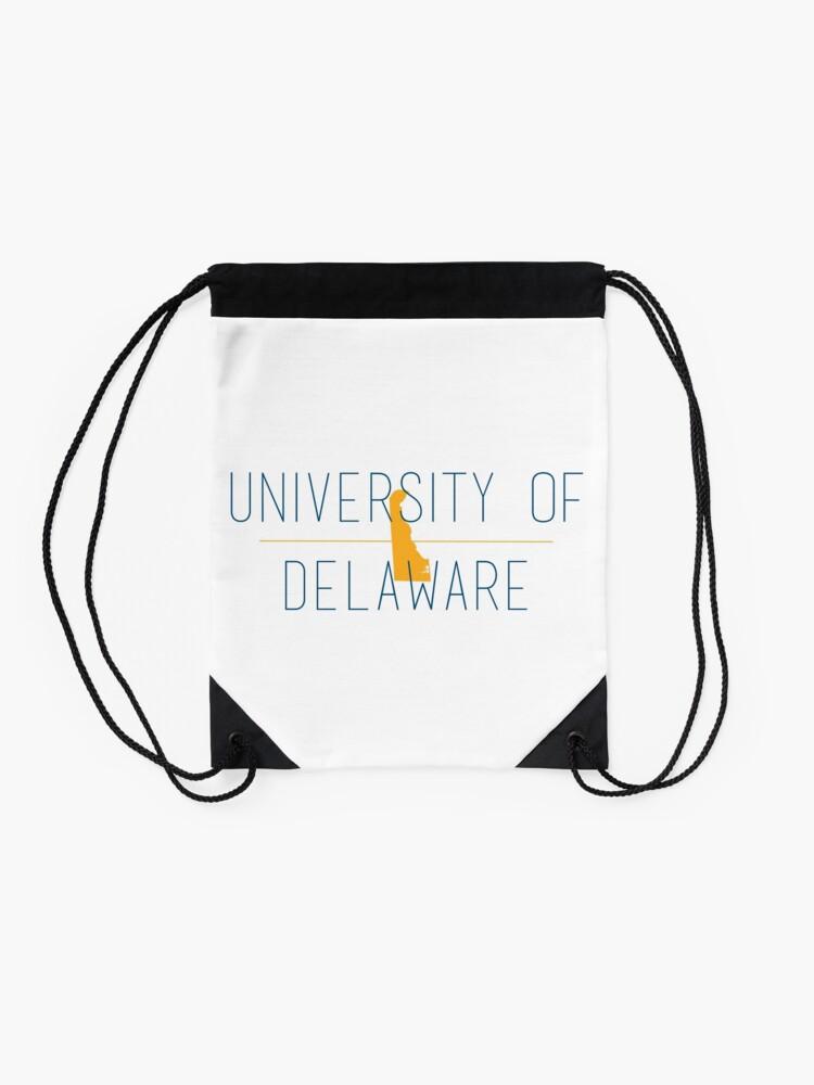 Alternate view of university of delaware Drawstring Bag