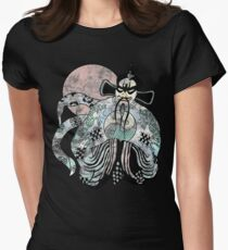 Jack Burton - Lo Pan 25 Years Old Distress Fade Womens Fitted T-Shirt