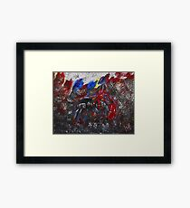 The Last Fight to Eternity Framed Print