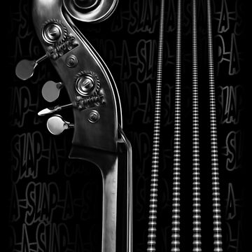 Slap Bass Monotone by SquareDog