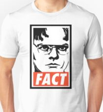 Dwight Schrute FACT Unisex T-Shirt