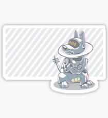 Neuter Your Robo Pup Sticker