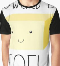 Powered by Tofu Graphic T-Shirt