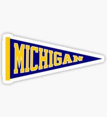 Michigan Pennant Sticker