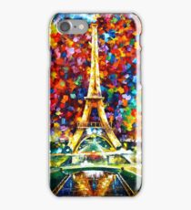 paris of my dreams - Leonid Afremov iPhone Case/Skin