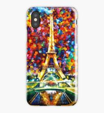 paris of my dreams - Leonid Afremov iPhone Case