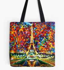 paris of my dreams - Leonid Afremov Tote Bag