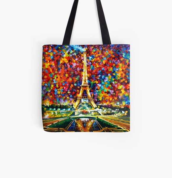 paris of my dreams - Leonid Afremov All Over Print Tote Bag