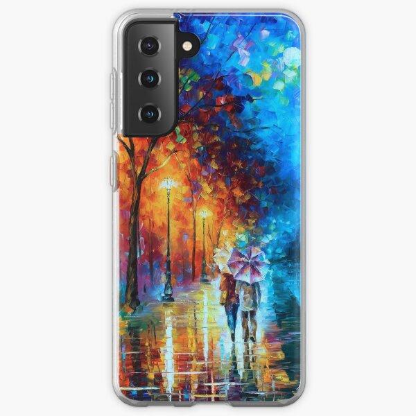 Love by The Lake - Leonid Afremov Samsung Galaxy Soft Case