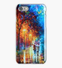 Love by The Lake - Leonid Afremov iPhone Case/Skin