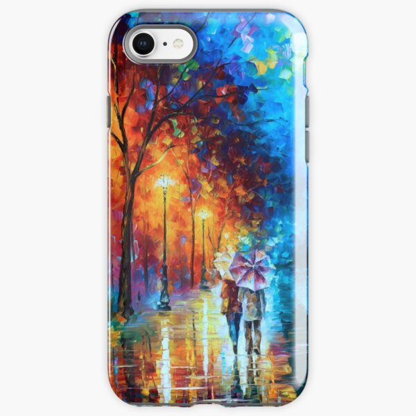Love by The Lake - Leonid Afremov iPhone Tough Case