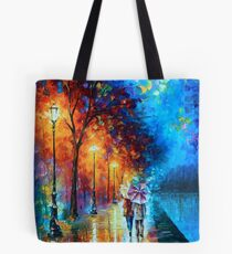 Love by The Lake - Leonid Afremov Tote Bag