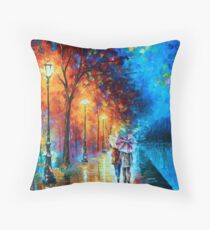 Love by The Lake - Leonid Afremov Throw Pillow