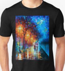 Love by The Lake - Leonid Afremov Unisex T-Shirt