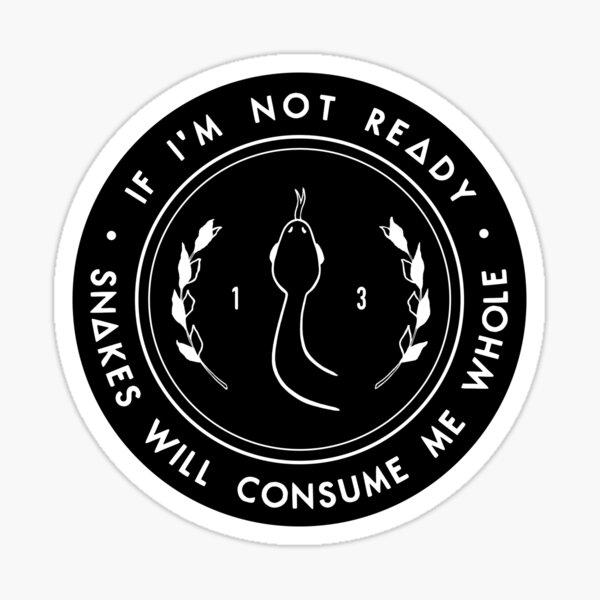 Snakes - Bastille Sticker