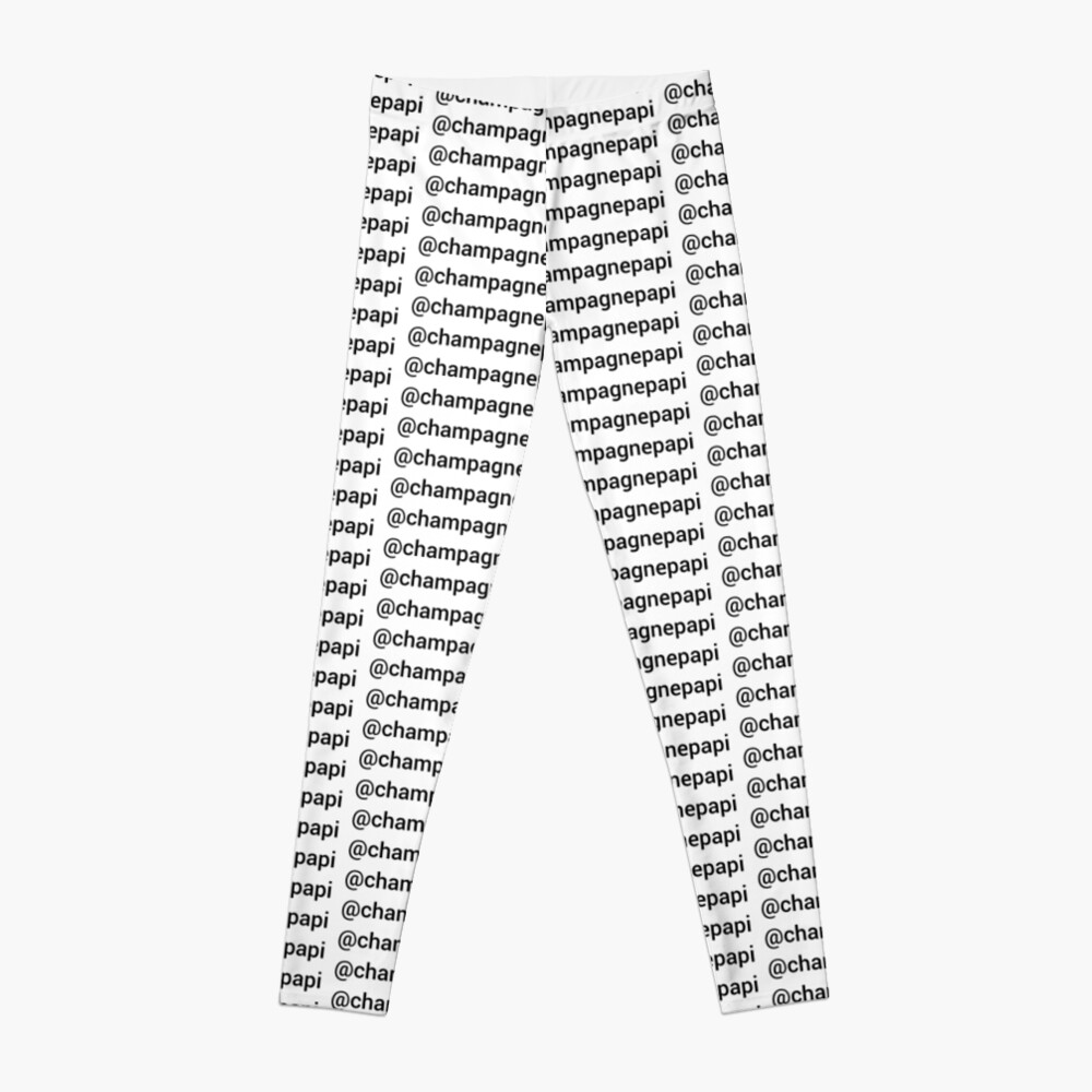 DRAKE - SERIE INSTAGRAM Leggings