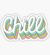 Retro-Chill Sticker