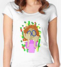 Nerd Girl Women's Fitted Scoop T-Shirt