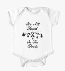 HAPPY CAMPER ITS ALL GOOD IN THE WOODS CAMPING HIKING TENT Kids Clothes