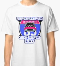 Old School Hip Hop Art - Ridin' Dirty on 85 Classic T-Shirt