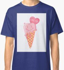 Love ice cream. Classic T-Shirt