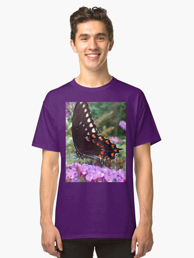 Spice Bush Swallowtail Butterfly Classic T-Shirt Front