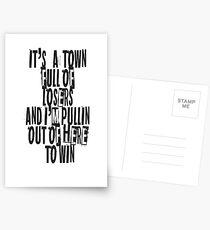 Stadt für die Verlierer Postkarten