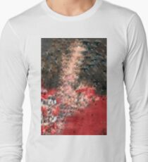 Eyes - red and black Long Sleeve T-Shirt