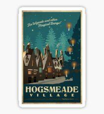 Hogsmeade Poster Sticker