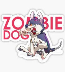 Zombie Dog Sticker