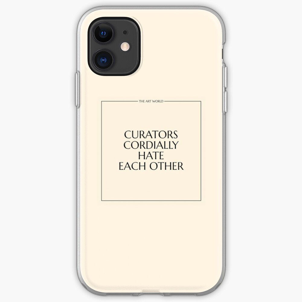 The Art World: Curators iPhone Case & Cover