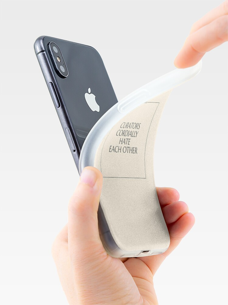 Alternate view of The Art World: Curators iPhone Case & Cover