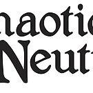 Chaotic Neutral by machmigo