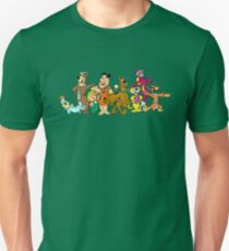 Hanna-Barbera (Scooby Doo, Flintstones, Yogi, Top Cat) Unisex T-Shirt