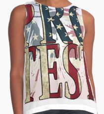 protest, t-shirt Contrast Tank