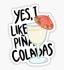 Pina Colada song Sticker