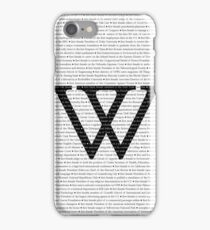 Wellesley College Firsts iPhone Case/Skin