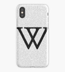 Wellesley College Firsts iPhone Case