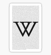 Wellesley College Firsts Sticker