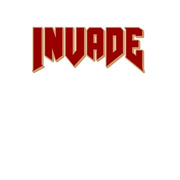 Invade brand by invadeclothing
