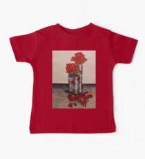 Red Rose Petals Kids Clothes