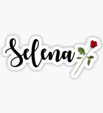 Selena Sticker